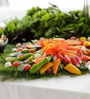 Traiteur Lebot - Cocktail - buffet mini légumes