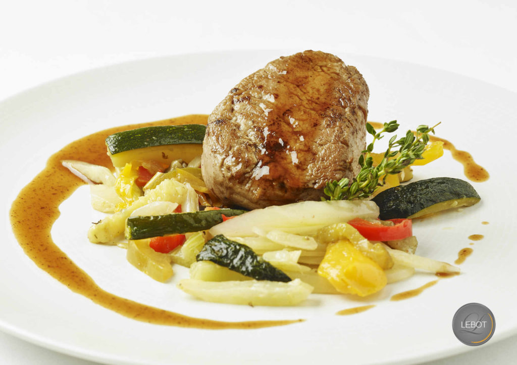 Filet de veau au thym