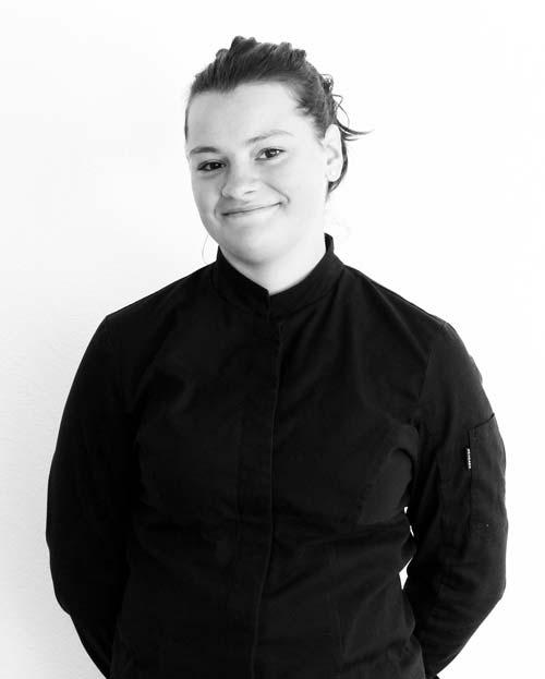 Lise, en cuisine chez Traiteur Lebot