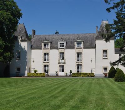 Façade du château de la Cassemichère