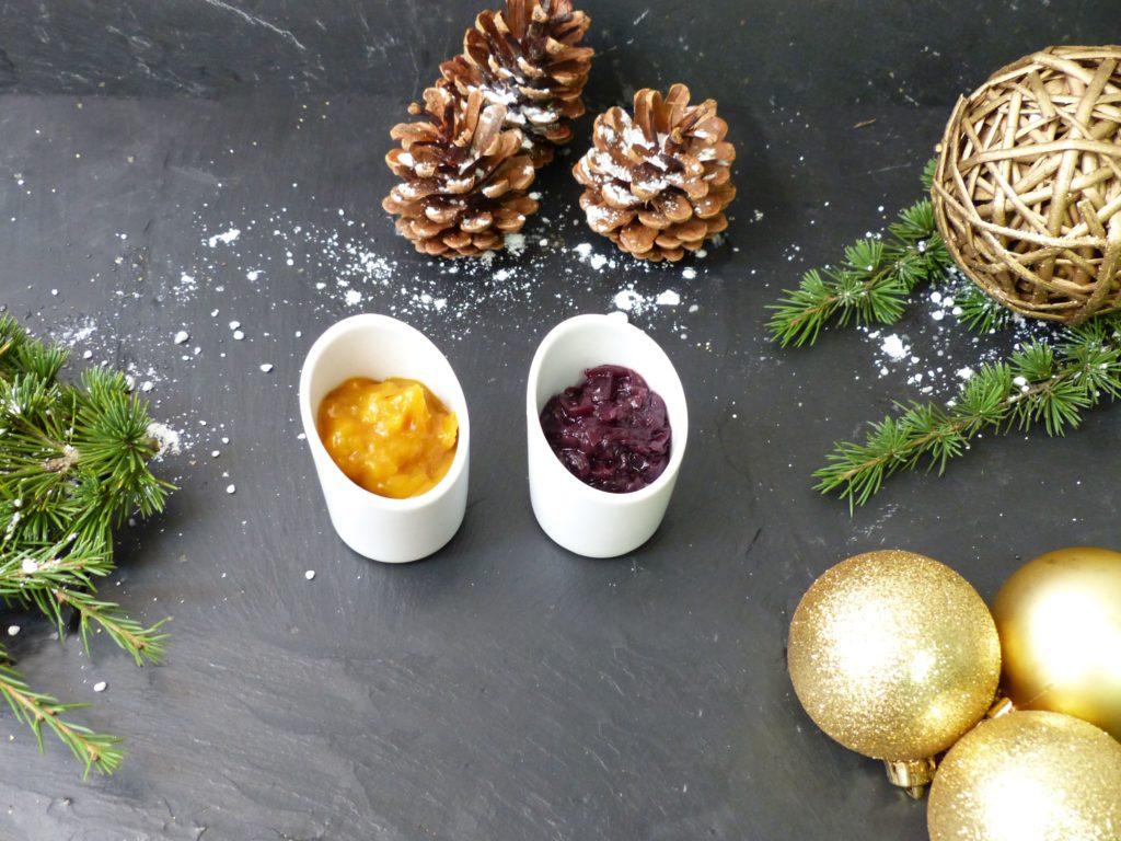 Chutney du traiteur lebot pour Noël oignons rouges et mangue ananas au poivre de sichuan